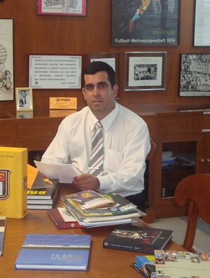 Rodrigo Paulino presidente da Liga amadora jauense de futebol - jaú várzea corinthians (Foto: Arquivo Pessoal)