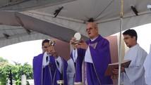 Católicos celebram início da Quaresma (Priscila Miranda / G1)