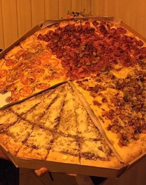 Quando bate aquela fome, pizza é a pedida! (Foto: Arquivo Pessoal)