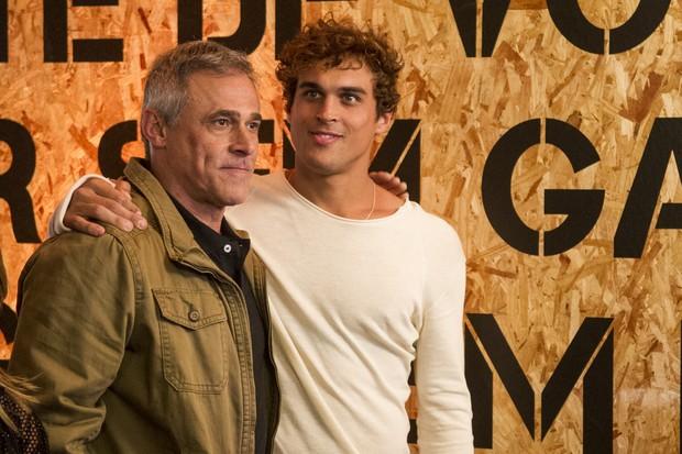 Oscar Magrini e Felipe Roque na nova temporada de Malhação (Foto: Globo/Mauricio Fidalgo)