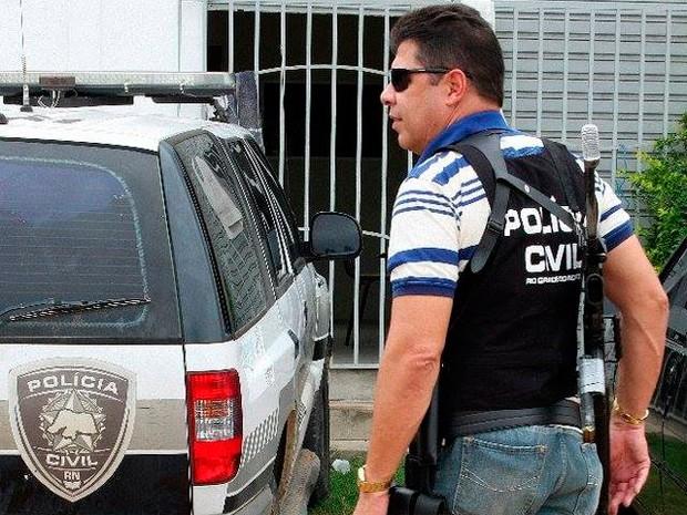 Delegado Graciliano Lordão nega as denúncias feitas pelos policiais (Foto: Ney Douglas/Novo Jornal)