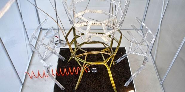 Chair Farm Aisslinger : Plante sua própria cadeira casa vogue design