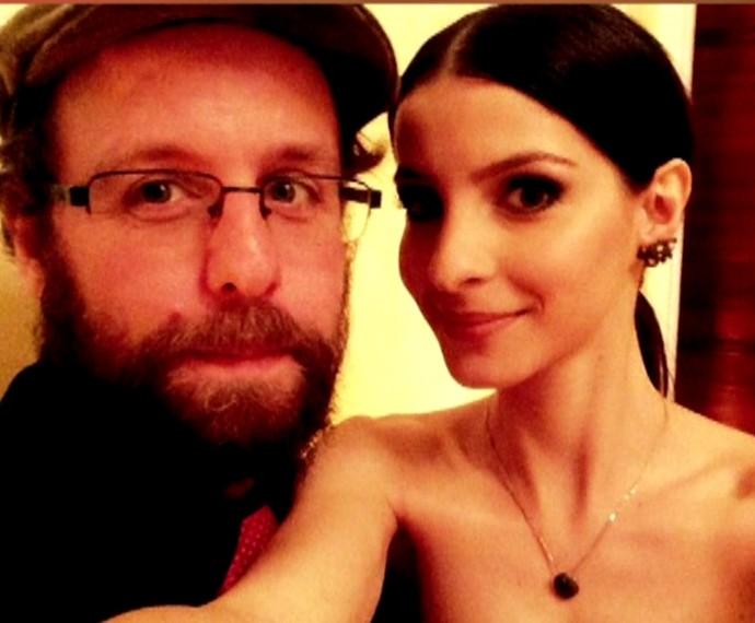 Giselle Batista e o namorado Otávio Pandolfo (Foto: TV Globo)