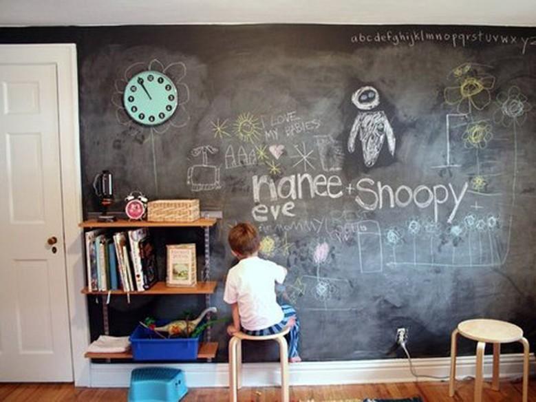 Ideias de como usar tinta lousa na decoração - Casa - GNT