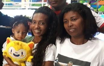 Esposa de Robson deixa o boxe por família e para marido virar profissional