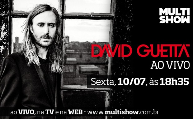 david guetta cartela (Foto: Multishow)