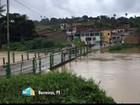 Chuva inunda casas e deixa famílias desalojadas na Mata Sul