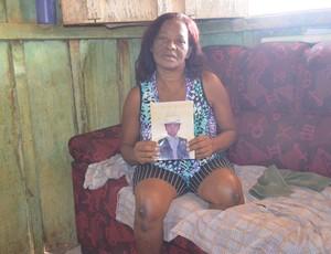 Marlene de Assis, mãe de Assis (Foto: Roger Henrique)