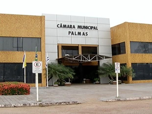 Câmara Municipal de Palmas é a segunda mais cara, entre as capitais do Brasil (Foto: Reprodução/TV Anhanguera)