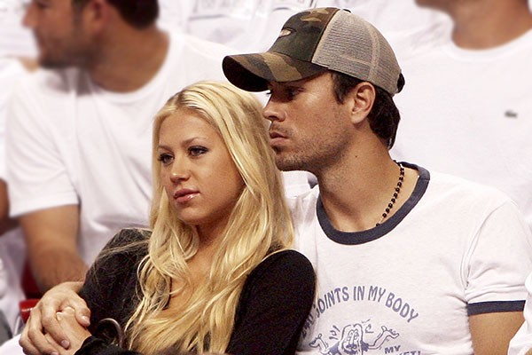 Enrique Iglesias e Anna Kournikova (Foto: Getty Images)