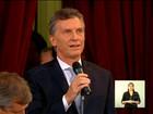 Macri toma posse e propõe governo de união nacional na Argentina
