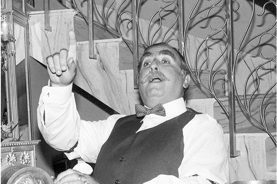 Elias Gleizer em Direito de Amar (1987) (Foto: Geraldo Modesto/TV Globo)