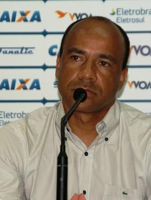 Técnico Sérgio Soares apresentado pelo Avaí (Foto: Alceu Atherino, Divulgação / Avaí FC)
