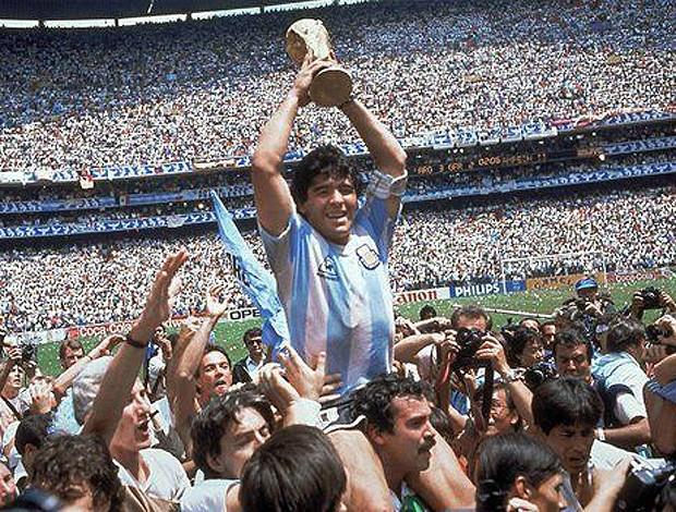 Maradona 1986 (Foto: AP)