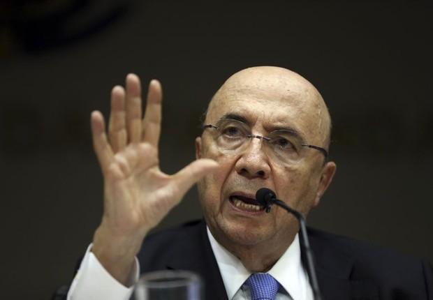 O ministro da Fazenda Henrique Meirelles (Foto: Antonio Cruz/Agência Brasil)