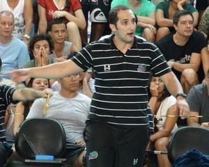 Henrique Furtado JF Vôlei técnico (Foto: Bruno Ribeiro)