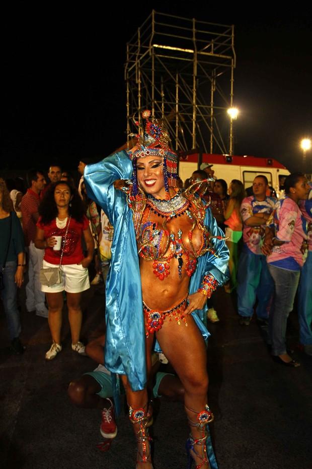 Andrea Andrade (Foto: Paduardo/ Ag. News)