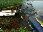 Avião agrícola que caiu e matou 2 só podia voar com uma pessoa, diz Anac