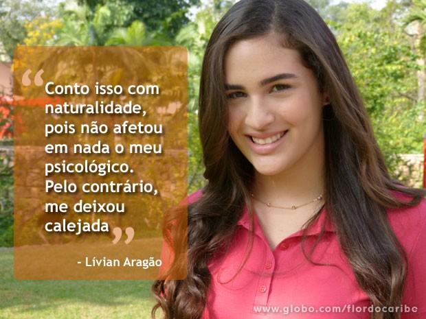 Lívian Aragão (Foto: Flor do Caribe / TV Globo)