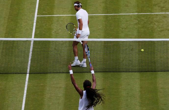 Dustin Brown elimina Nadal em Wimbledon (Foto: REUTERS/Suzanne Plunkett)