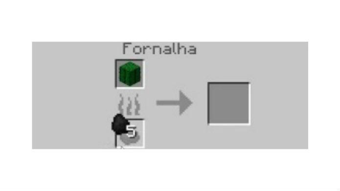 Minecraft: esquente o cacto na fornalha conforme o diagrama (Foto: Reprodução / Thomas Schulze)