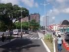 Motoristas ficam confusos com novo trânsito na Lagoa, em João Pessoa