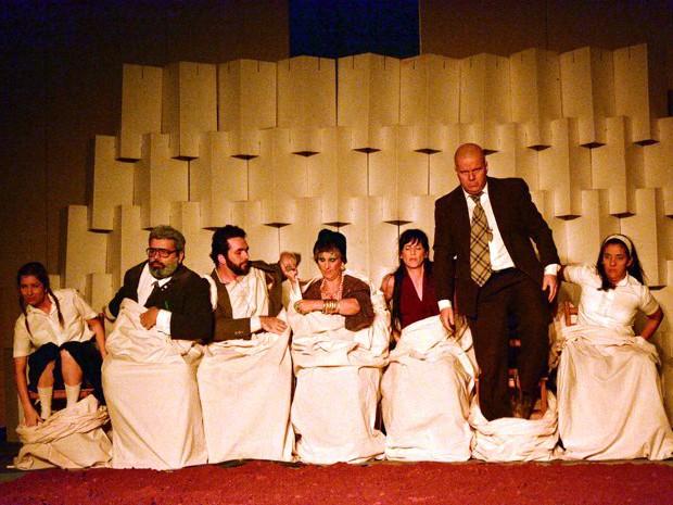 Perdoa-me por me traíres, Grupo de Teatro Experimental, Pouso Alegre, Varginha (Foto: Daniela Ayres/ G1)