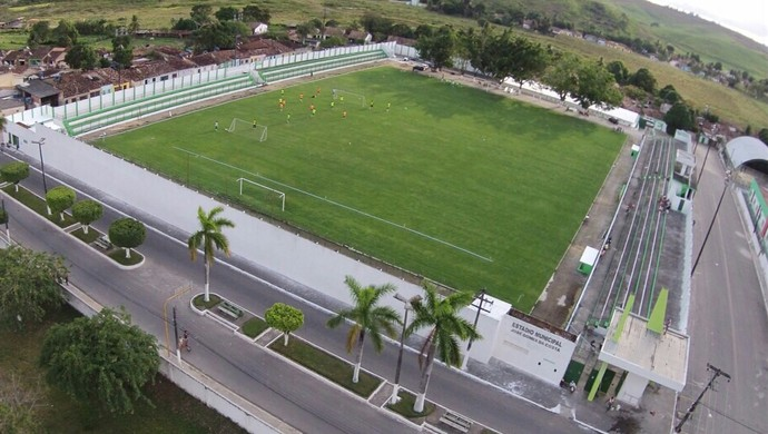 Estádio José Gomes da Costa, Murici (Foto: Jailson Colácio/Assessoria Murici)