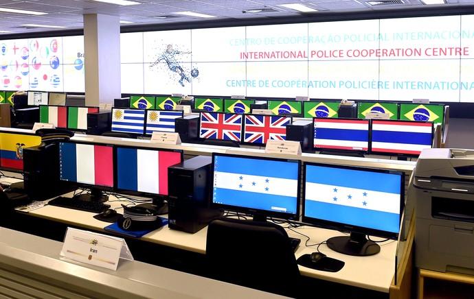 Centro de Segurança Policia (Foto: Agência AFP)