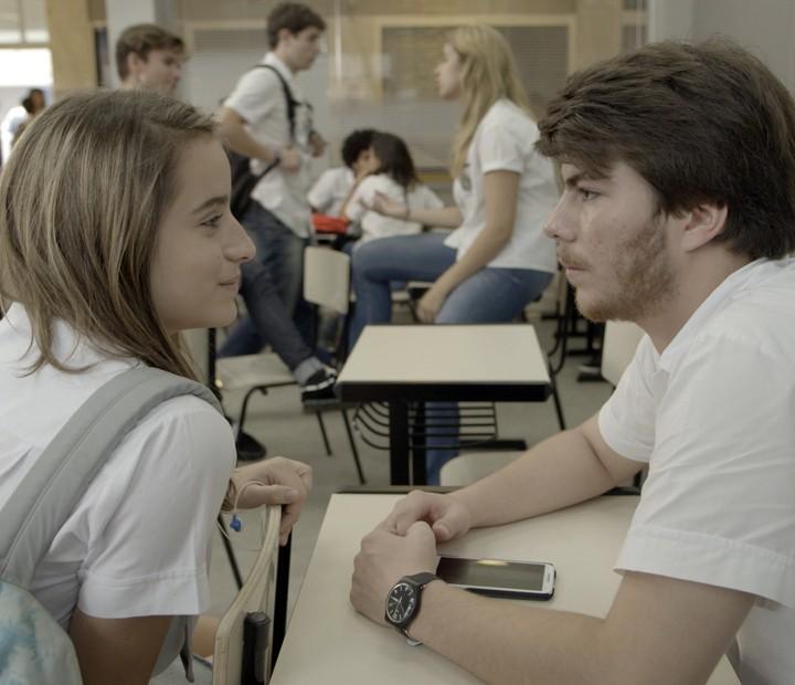 Henrique e Camila já estão em total sintonia! (Foto: TV Globo)