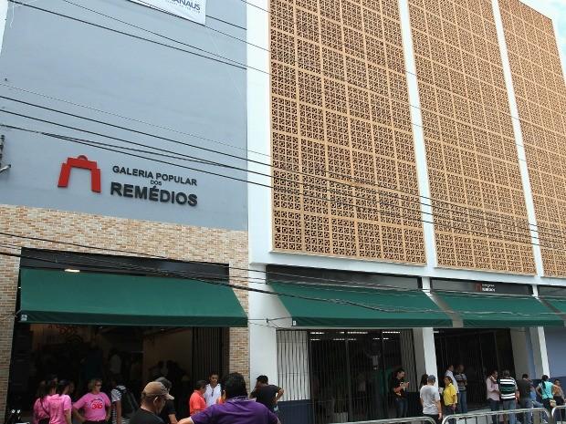 Novo shopping popular inaugurou neste sábado (25) (Foto: Divulgação/Semcom)