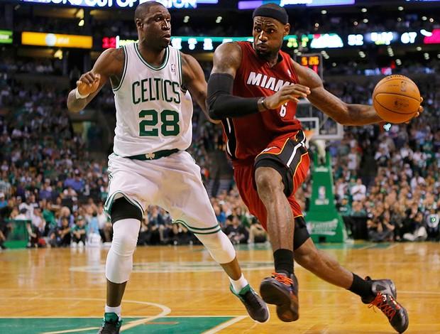 LeBron James, Miami x Boston (Foto: Agência Reuters)