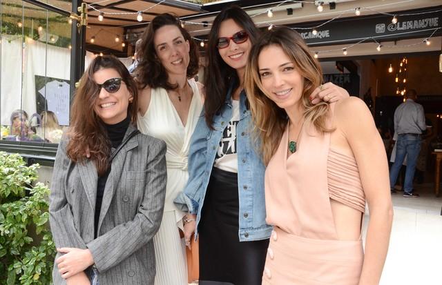Lu Lima, Ana Isabel Carvalho Pinto, Cris Barros e Camila Espinosa  (Foto: Rodrigo Zorzi)