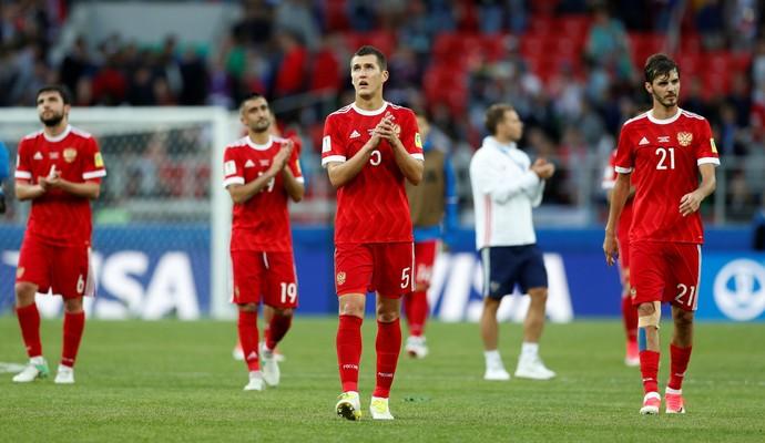 Rússia x Portugal (Foto: Reuters)