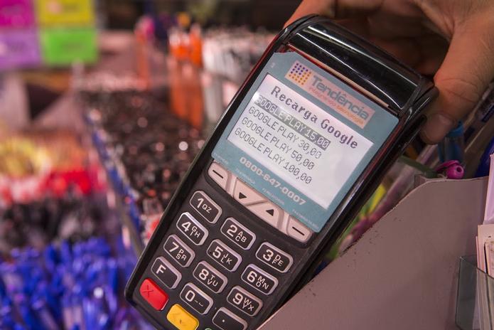 Compra de créditos para o Google Play funciona da mesma forma que as recargas dos planos de telefonia (Foto: Divulgação/Google)
