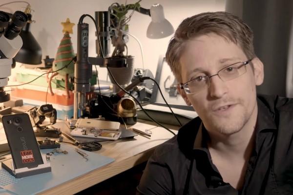 Edward Snowden (Foto: Reprodução Youtube)