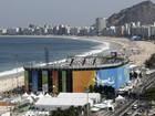 Desmontagem da arena do vôlei de praia em Copacabana é suspensa