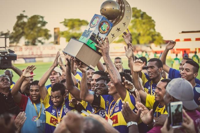 Boca Júnior conquista a Série A2 pela terceira vez (Foto: Filippe Araújo/TV Sergipe)