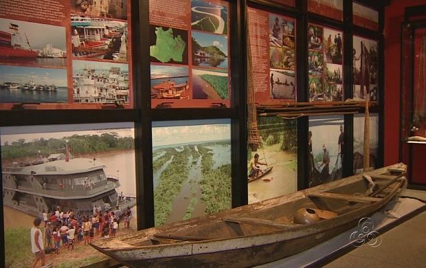 Visitante pode conhecer a história dos povos da região amazônica (Foto: Amazonas TV)