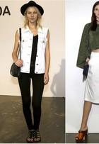 Fora das passarelas, veja o que as modelos vestem no SPFW