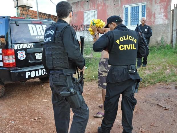 Operação 'Grená', deflagrada pela Polícia Civil nesta terça-feira (17) em Mato Grosso. (Foto: Polícia Civil-MT/Assessoria)