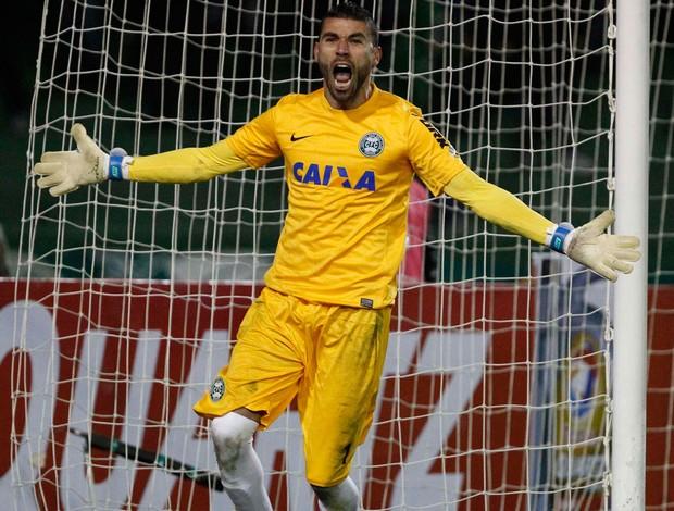 Vanderlei goleiro Coritiba (Foto: Daniel Castellano / Futura Press)