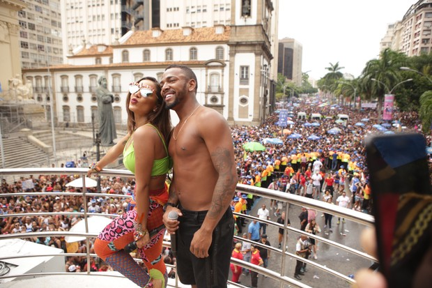 Anitta e Nego do Borel (Foto: Raphael Mesquita/Brazil News)