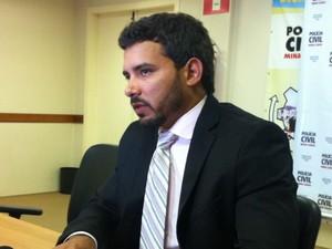 Delegado regional afirma que provas indicam participação da advogada (Foto: Valdivan Veloso/G1)