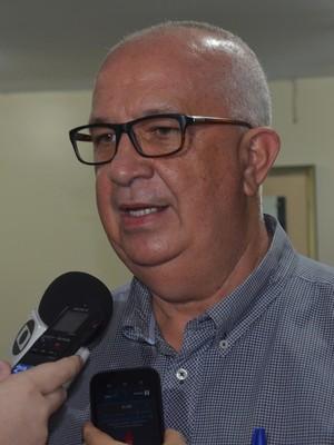 Guilherme Novinho, presidente do Botafogo-PB (Foto: Larissa Keren / GloboEsporte.com)