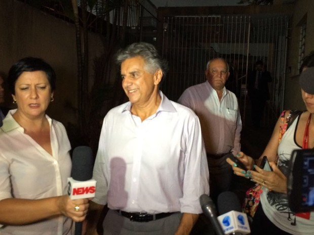 Beto Mansur visitou Michel Temer nesta quarta (Foto: Glauco Araújo/G1)