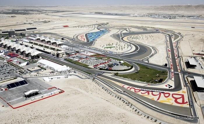 Circuito do Bahrein - aérea