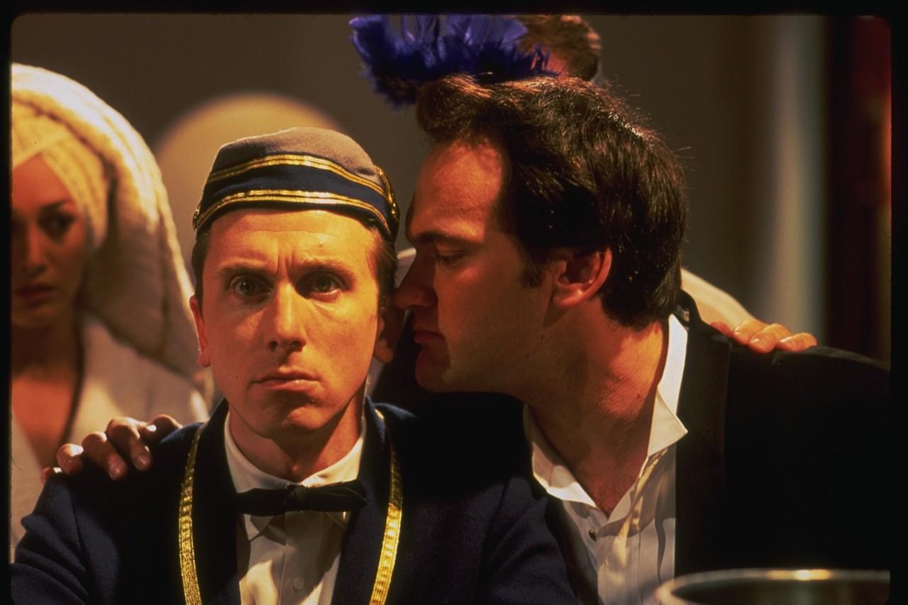 Quentin Tarantino em Grande Hotel (Foto: Divulgação)