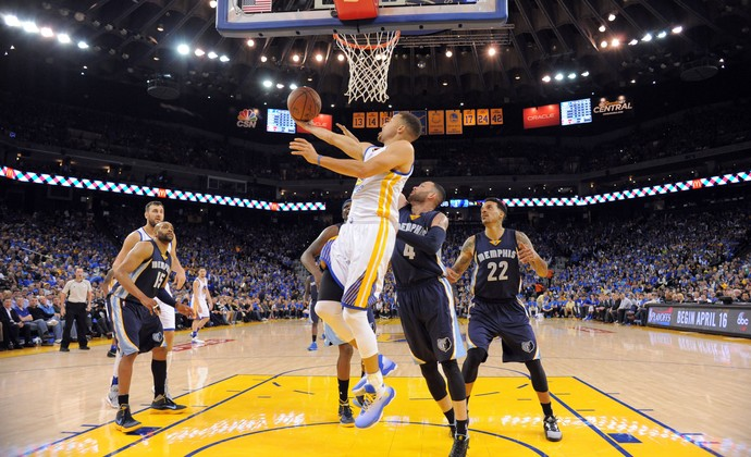 Stephen Curry Golden State Warriors (Foto: Kyle Terada-USA TODAY Sports)