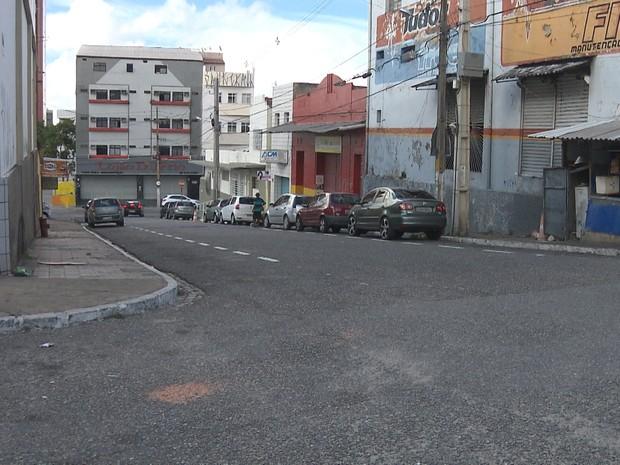 STTP começou nesta segunda-feira (20) a ampliação do sistema de Zona Azul na região central de Campina Grande (Foto: Reprodução/TV Paraíba)